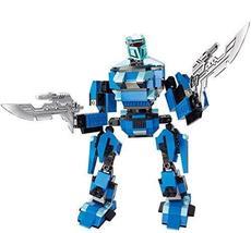 PANDA SUPERSTORE Plastic Toy Bricks 5-6-7 Years Old Boy Assembling Robot Intelli