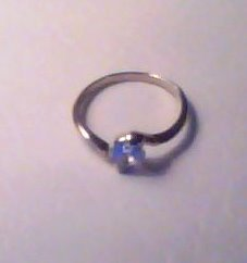 CUBIC ZIRCONIA SOLITAIRE RING IN SIMPLE SETTING - ASSORTED SIZES