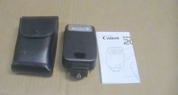 canon speedlite 200e external camera flash and 50 similar items rh bonanza com Canon Speedlite 270EX II Canon Speedlite 270EX