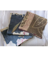 Set of 3 New Floral Pillow Covers for 18 inch Pillow - Patchwork Print - $23.99