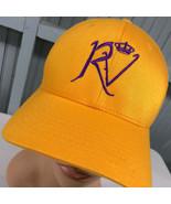 RV Crown Yellow Flexfit Small / Medium Stretch Baseball Cap Hat - $17.02