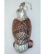 White-Tail BALD EAGLE - Blown Glass Ornament by Bronner's - £11.01 GBP