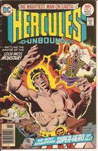 DC Hercules Unbound #7 vs Loch Ness Monster Adventure Action - $2.25