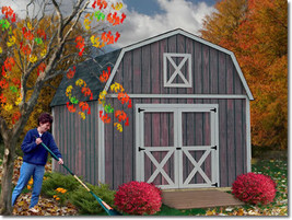 Best Barns Denver 12x20 Wood Storage Shed Kit - ALL Pre-Cut - $3,449.00