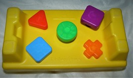 Fisher Price Vintage Hammer Shape Set, Bench and Shapes Only - $8.42