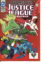 DC Justice League America #69 Doomsday Guy Gardner Blue Beetle Action - $4.95