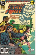DC Justice League Task Force #5 Knightquest The Search Green Arrow Action - $2.25