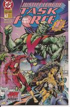 DC Justice League Task Force #1 Premiere Issue Flash Manhunter Wonder Woman - $2.25