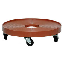 Weatherproof 16-inch plant Dolly Five wheels up to 200 Pound Terra Cotta Caddy - $49.45