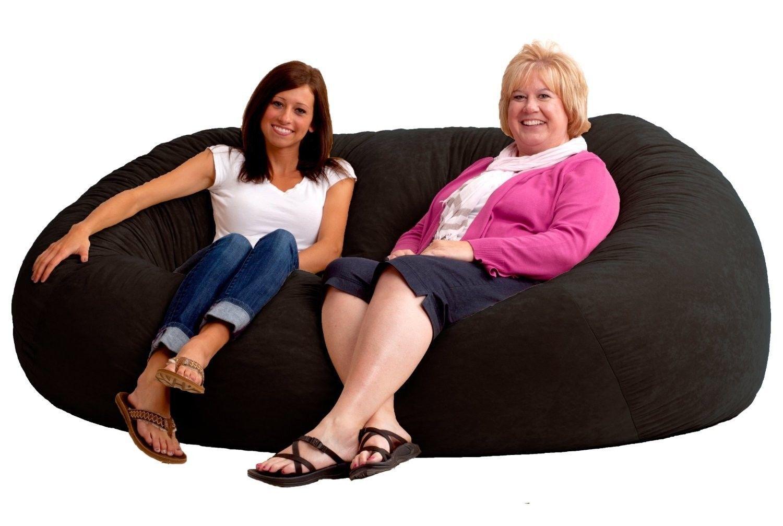 Giant Bean Bag Chair 7 Foot Xxl Fuf In Comfort Suede