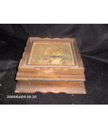 Collectible vintage wooden trinket box - $5.00