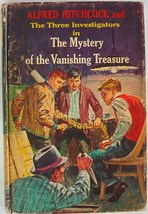 Three Investigators #5 MYSTERY OF THE VANISHING TREASURE 1st Edition 1st... - $20.00