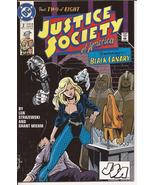 DC Justice Society Of America #2 Black Canary CW Arrow Action Adventure - $1.95