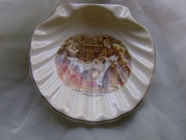 Sairey Gamp and Betsy Prig Shell Dish, Lancaster English Ware Hanley  - $7.99