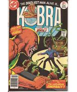 DC Kobra #7 Lord Of Evil The Lazarus Conspiracy Adventure Action - $1.25