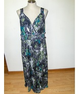 Jaclyn Smith Dress Camo Green 1X Plus Size Gals... - $19.97