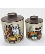 Set of Two Vintage Ransburg Nesting Canisters - $10.00