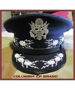 NEW US AIR FORCE CHIEF OF STAFF UNIFORM HAT CP COLUMBIA MADE ALL SIZE HI... - $133.92