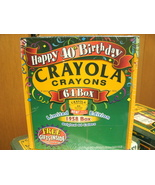 CRAYOLA CRAYONS HAPPY 40TH BIRTHDAY LIMITED EDITION 1958 BOX ORIGINAL 64... - $21.99