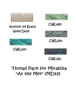 FIBER PACK At The Met MB135FP Mirabilia Designs... - $28.60