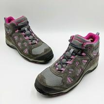 Hi-Tec Total Terrain Waterproof Hiking Boots Women's Size 8.5 B Pink and... - $39.99