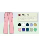 Women's Flare Leg Scrub Cargo Pants DSF Medical Uniform 876, Size 2XL - $11.94