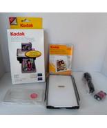 Kodak EasyShare Color Cartridges Photo Paper Battery 1.2V X 2  Cords etc. - $45.03