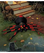 LED Lighted Halloween Spider Airblown Inflatable Yard Decoration - $29.96
