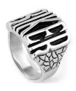 BIKER Statement Stainless Steel Motorcycle Letter Ring Sizes 9,11, 12,13,15 - $16.50