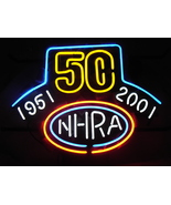 "NHRA BEER BAR NEON LIGHT SIGN 16 ""X 14"" - £122.70 GBP"