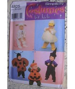 Simplicity Toddler Costumes Pattern #4825 Lamb,... - $8.00