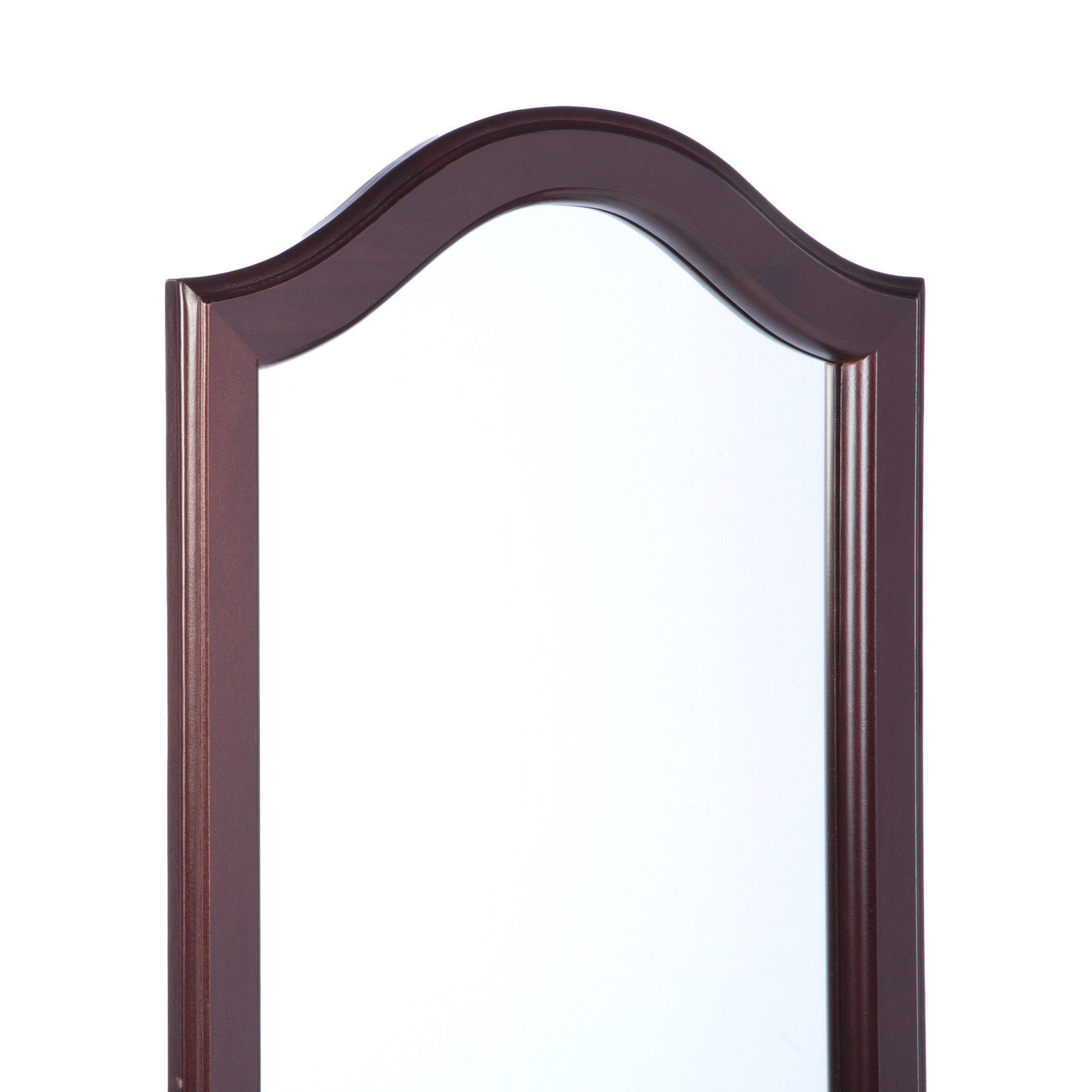 Standing victorian mirror beveled cheval tilt glass accent for Standing glass mirror
