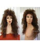 HEAVY METAL Better Costume Wig ... Unisex for Men and Women Bon Jovi, Va... - $26.99