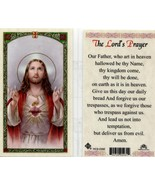 5 Prayer Cards Sacred Hearts Jesus Mary Saints Anthony for Lost Things I... - $9.95
