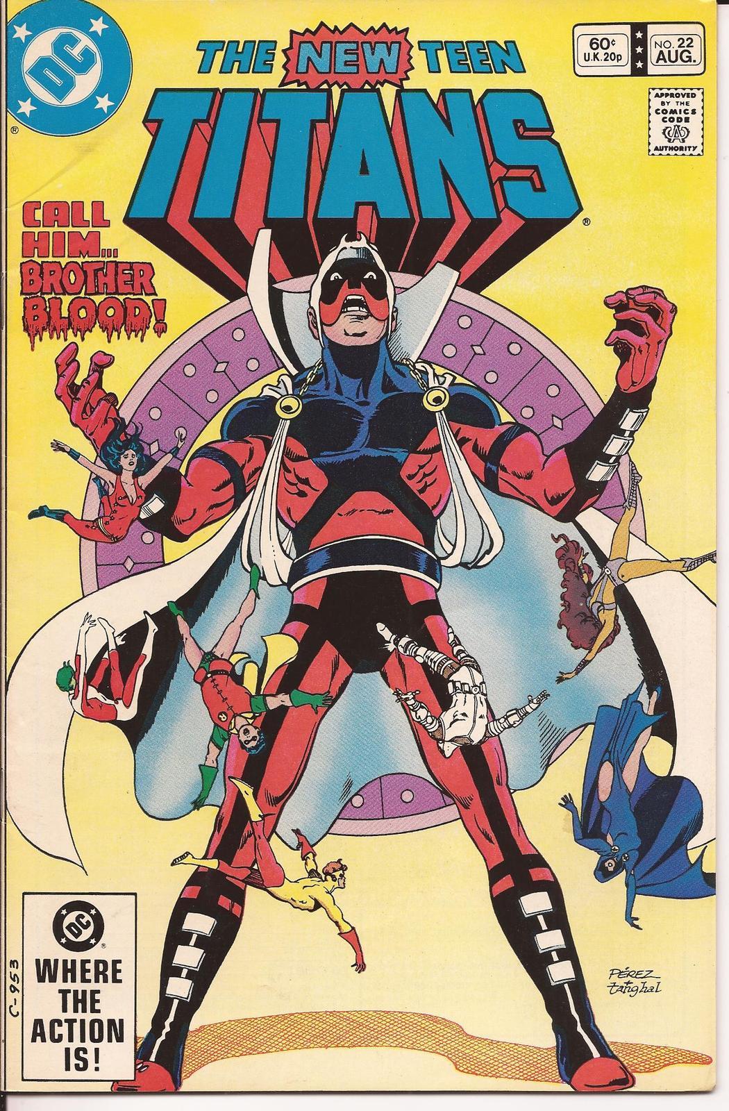 DC The New Teen Titans #22 Robin Wonder Girl Kid Flash Action Adventure Mystery