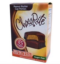 Keto candy: ChocoRite Peanut Butter low carb Cup Patties 6 ct (1g net ca... - $19.55