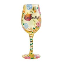 """Kindness """"Designs by Lolita"""" Wine Glass 15 o.z. 9"""" Gift Boxed Collectible Lolita"""