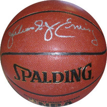 "Julius Erving signed Spalding NBA TB Indoor/Outdoor Basketball ""Dr. J""  ... - $205.95"