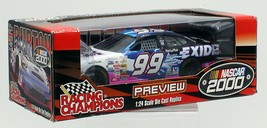 NASCAR Die Cast Jeff Burton Exide Car 2000 Racing Champions Preview 1:24... - $18.69