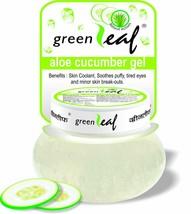 Green Leaf Aloe Cucumber Gel, Natural Actives 120 gm ORIGINAL fs - $10.24