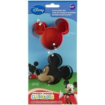 Wilton Cookie Cutter Set, Magical - Mickey Mouse -  Metal - Set Of 2 Cutters! - $6.50