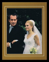 Richard & Tricia Nixon 1971 Wedding Framed 11x14 Photo Display - $34.64