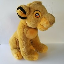 Vintage Disney Store Lion King Authentic Young Simba Plush Stuffed Animal - $24.18