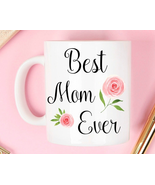 Best Mom Mug Tea Cup Beer Mug Friend Gift Coffee Cup Porcelain Cup - $7.99