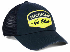 Michigan Wolverines Mens TOTW Society Adjustable Trucker Hat Cap - OSFM ... - $12.59