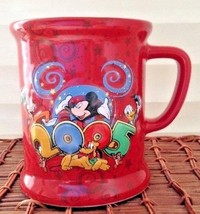 """2005 Walt Disney World """"Where The Party Never Ends!"""" 3D Mug Red Mickey Mouse.. - $10.86"""