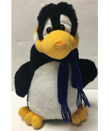 "Rhode Island Novelty Dapper Penguin 12"" Plush Bird Blue Scarf Stuffed An... - $14.99"