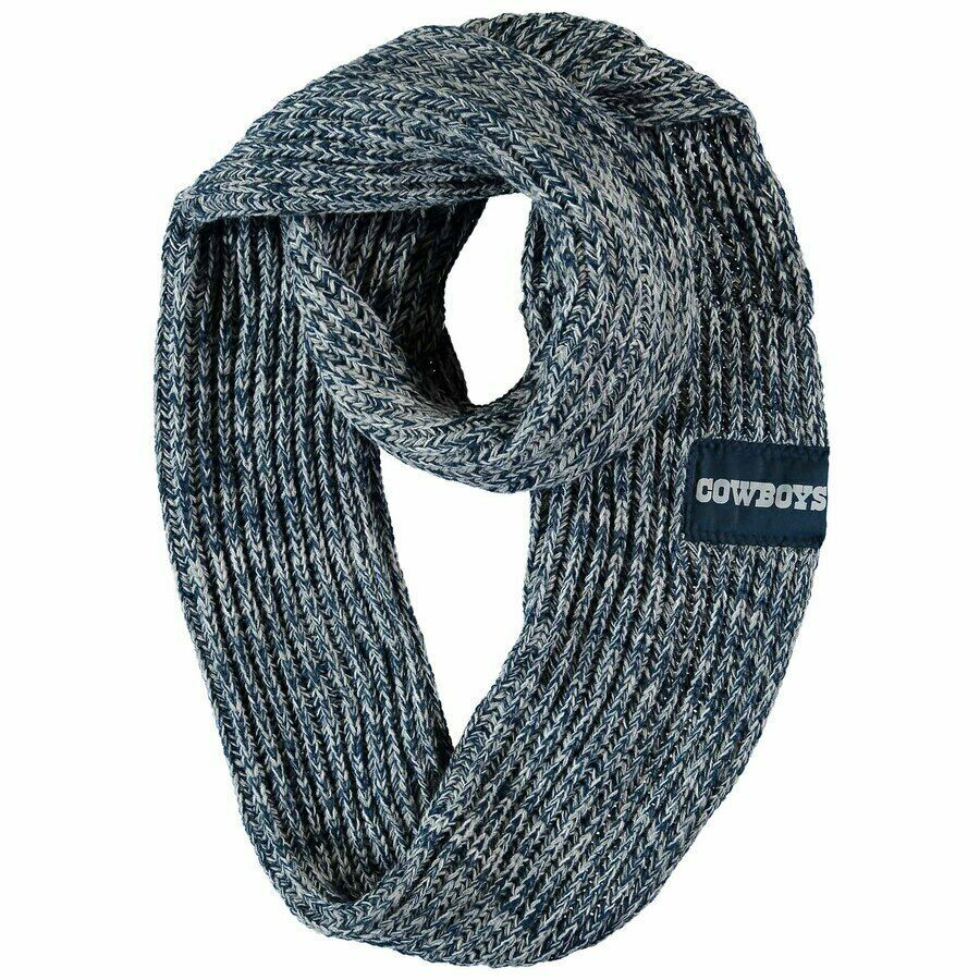 Primary image for Forever Collectibles FoCo Dallas Cowboys Women's Navy Peak Infinity Scarf, OS