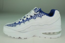 NIKE AIR MAX 95 QUICK STRIKE YOUTH SIZE 4.0 TO 7.0 WHITE INDIGO NEW COMF... - $118.79+