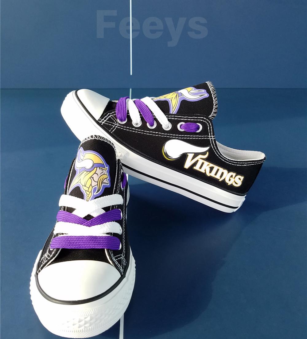 vikings shoes women converse style vikings sneakers minnesota fans birthday gift